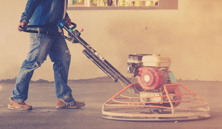 C mo hacer un suelo de hormig n pulido como pulir - Suelo de hormigon pulido ...