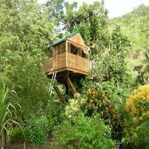 Casas de árbol para niños