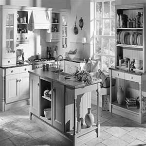 Cocinas artesanales de madera